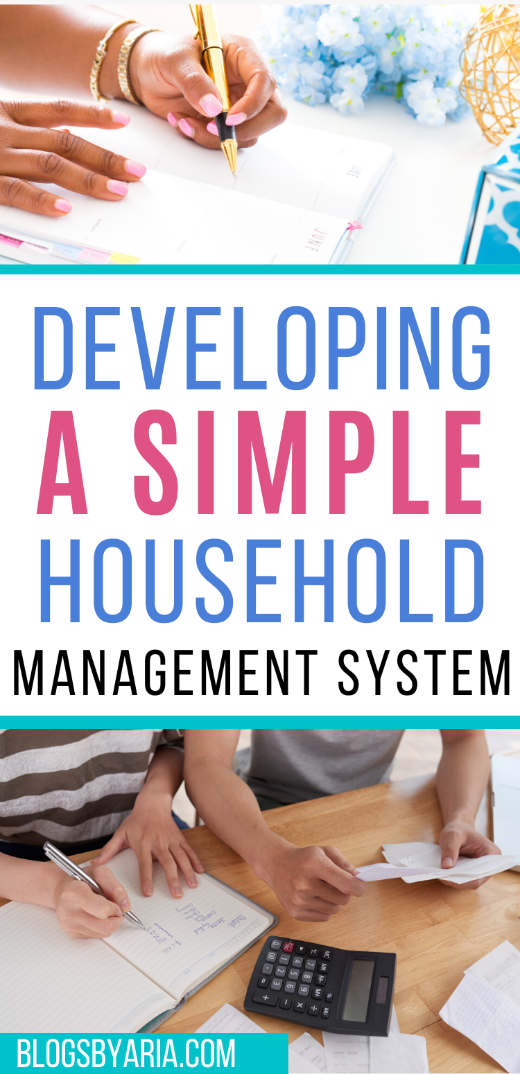 developing a simple household management system