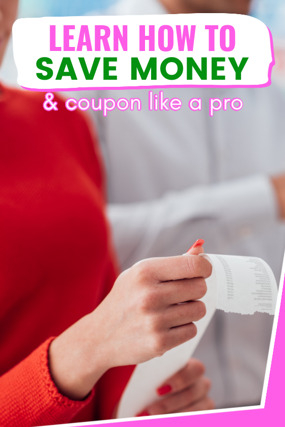 learn how to save money and coupon like a pro