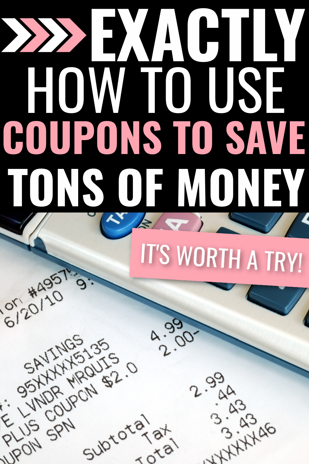 how to use coupons to save lots of money