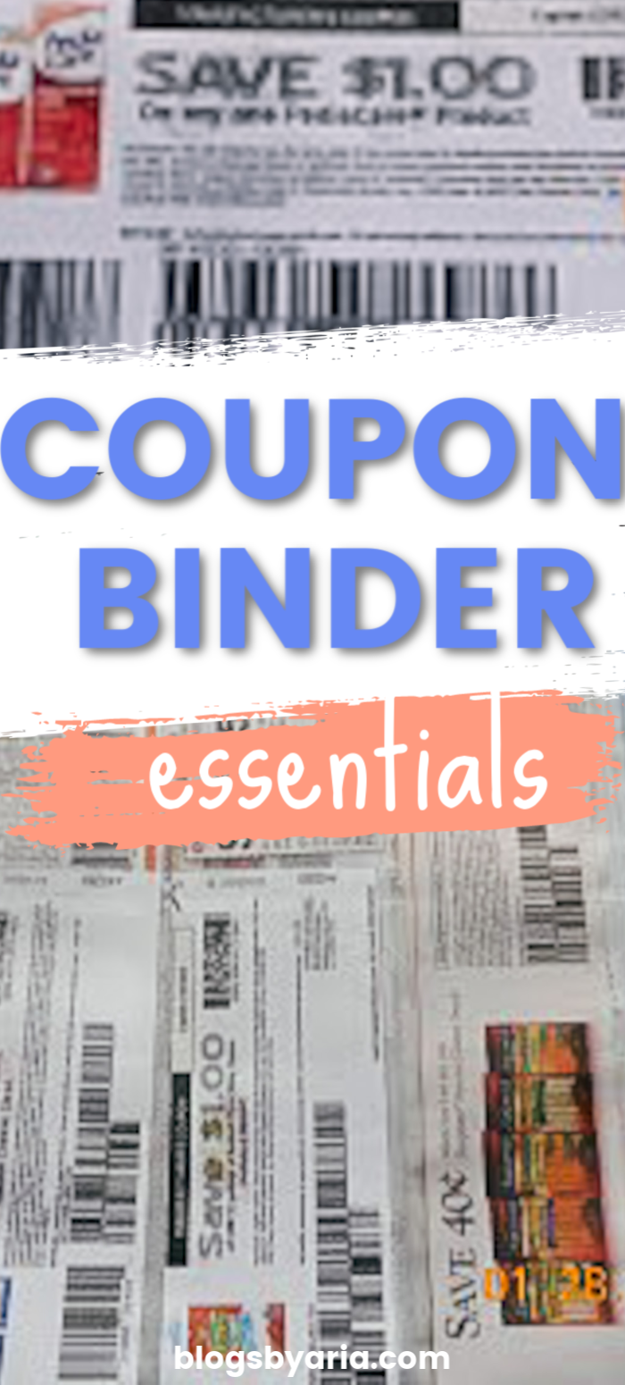 coupon binder essentials everything you need to set up a coupon binder