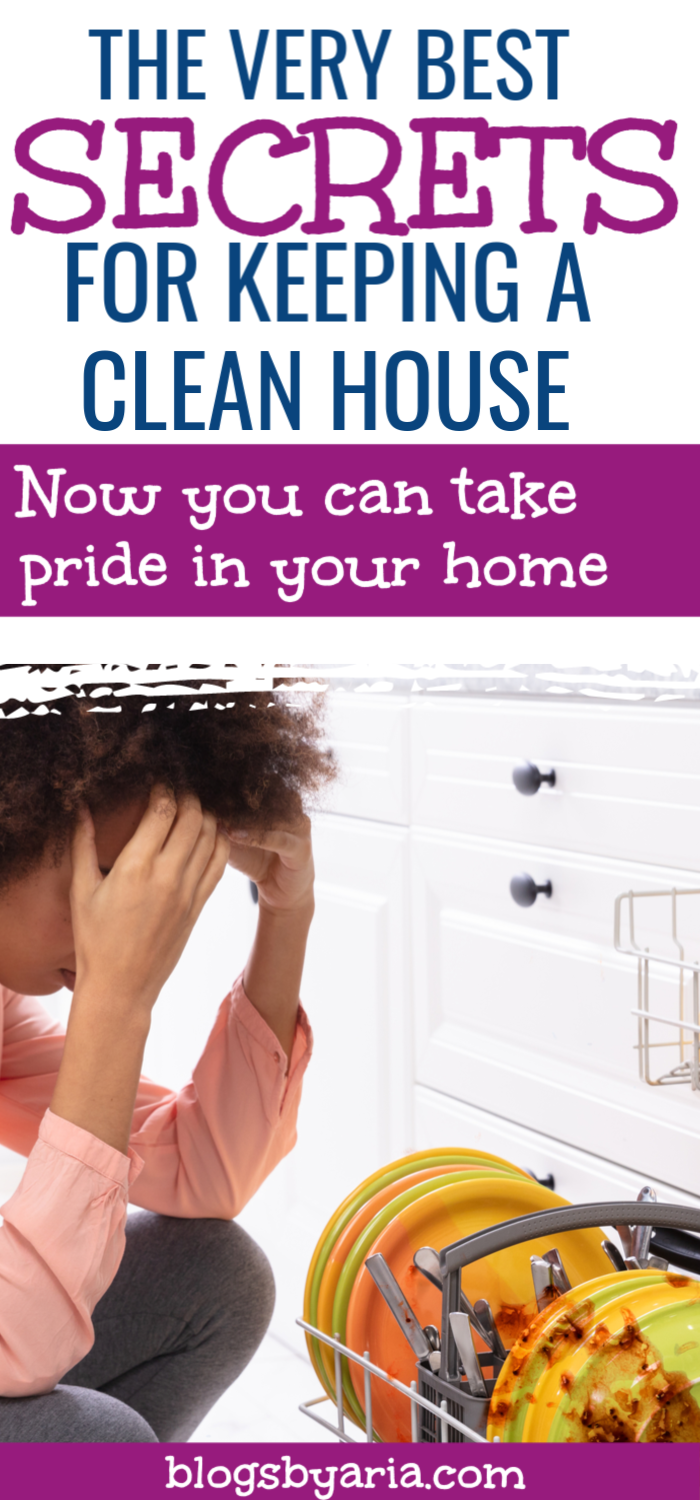 Now you can take pride in your home and stop being ashamed of your home not being clean