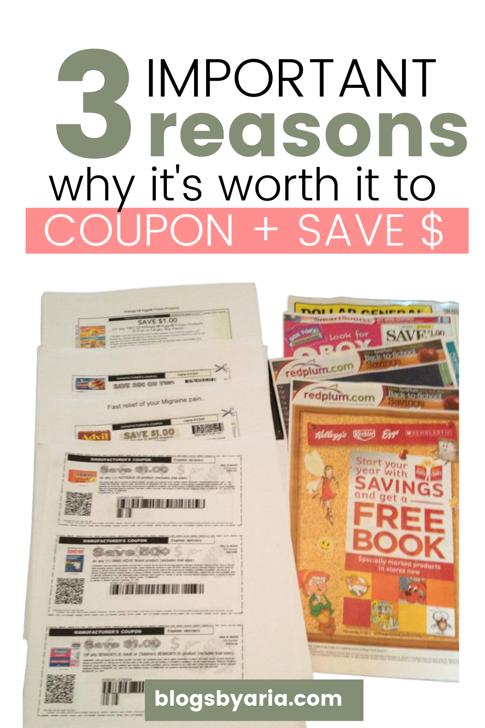 3 Important Reasons why it's worth it to coupon