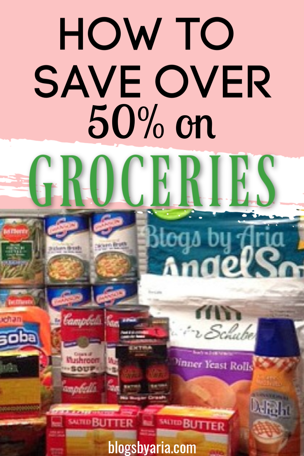 how to save over half off on groceries
