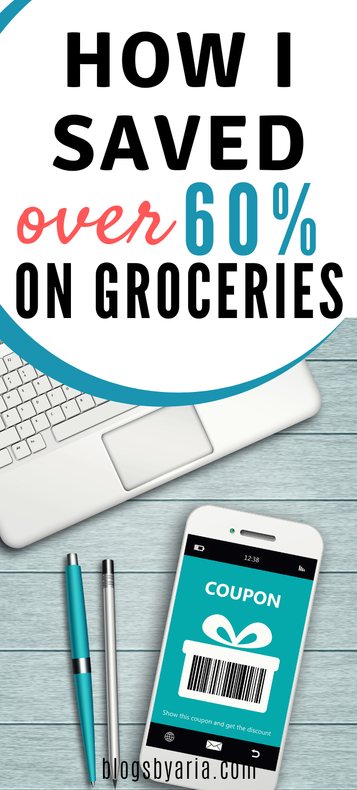 how I saved over 60 percent on groceries