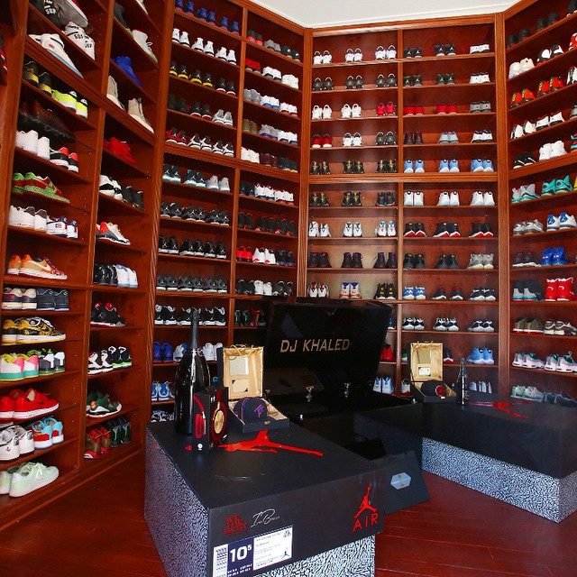 the ultimate sneaker head closet