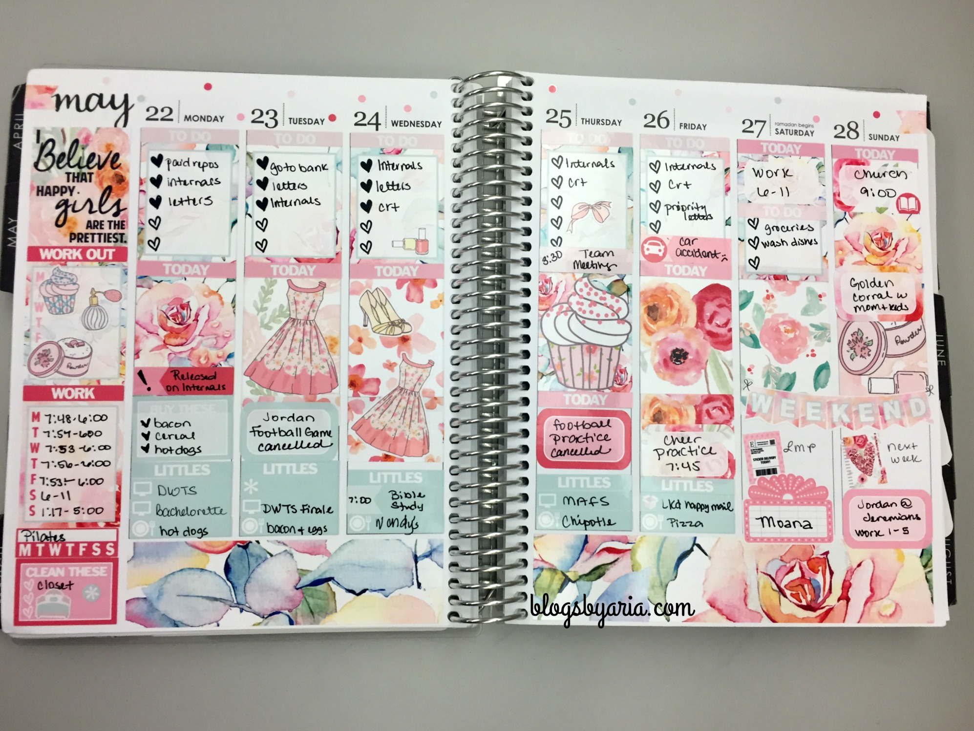 Glam Planner May Mystery kit