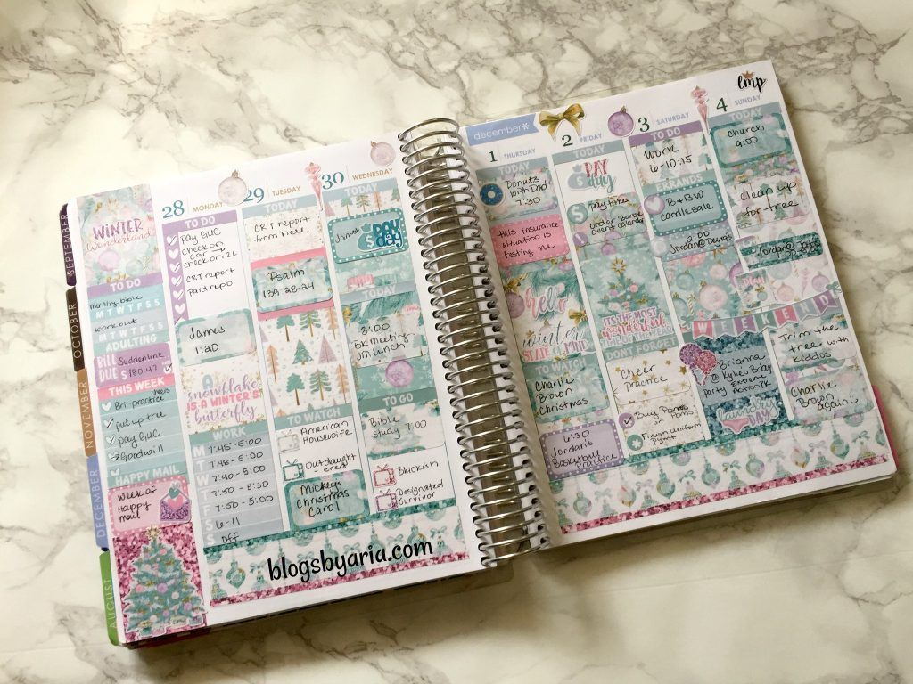 going full out with very little white space Little Miss Paperie