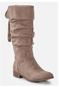 Justice Tassel Slouchy Boots