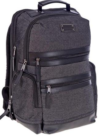 Gift Guide for Him | Renwick Treated Canvas & Leather anti-theft Business Backpack