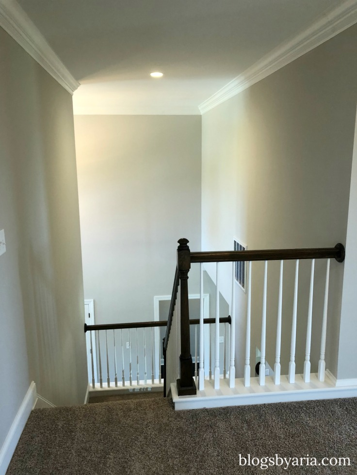 stairway traditional house tour