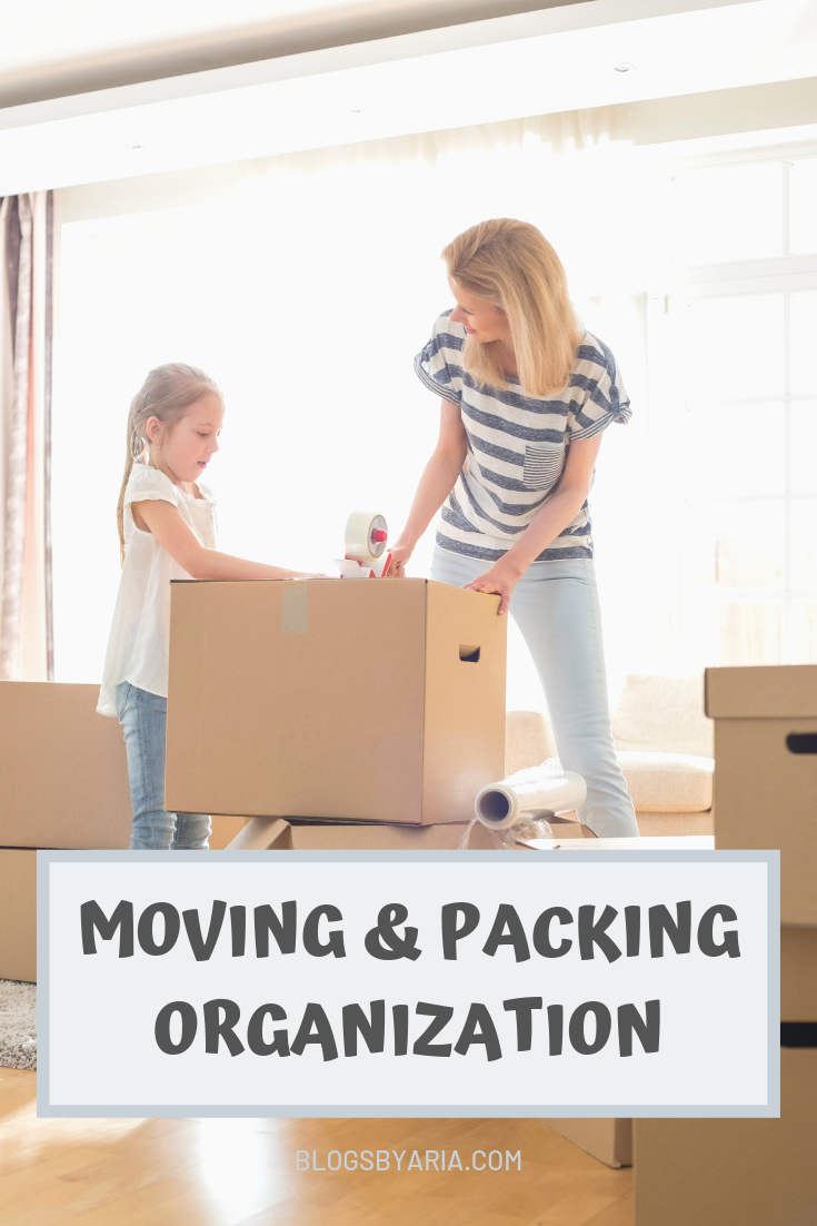 moving and packing organization tips