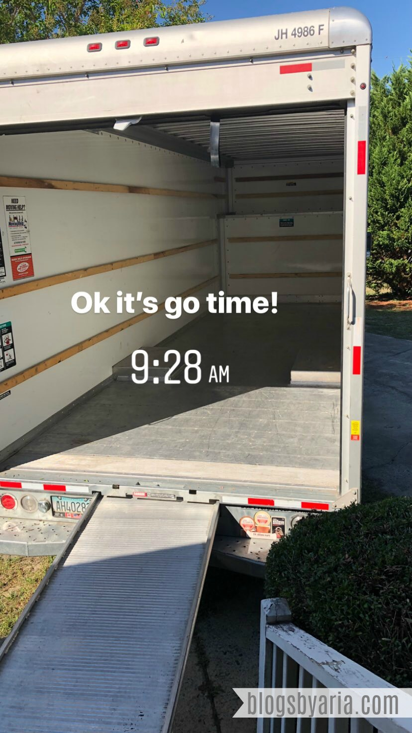 Life Lately -- All Moved In