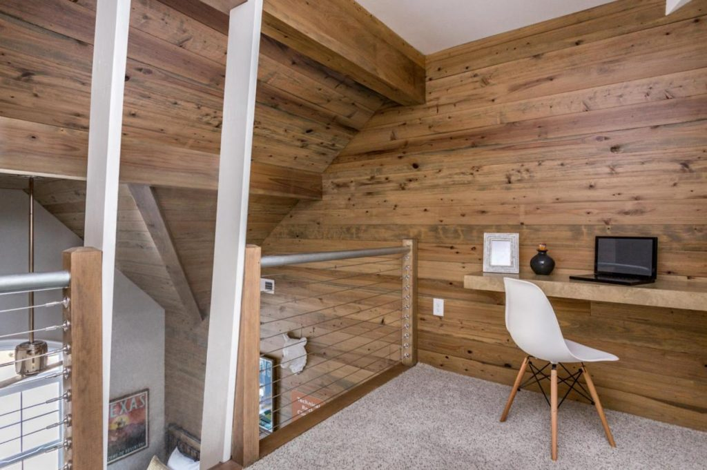 private loft space for kids room