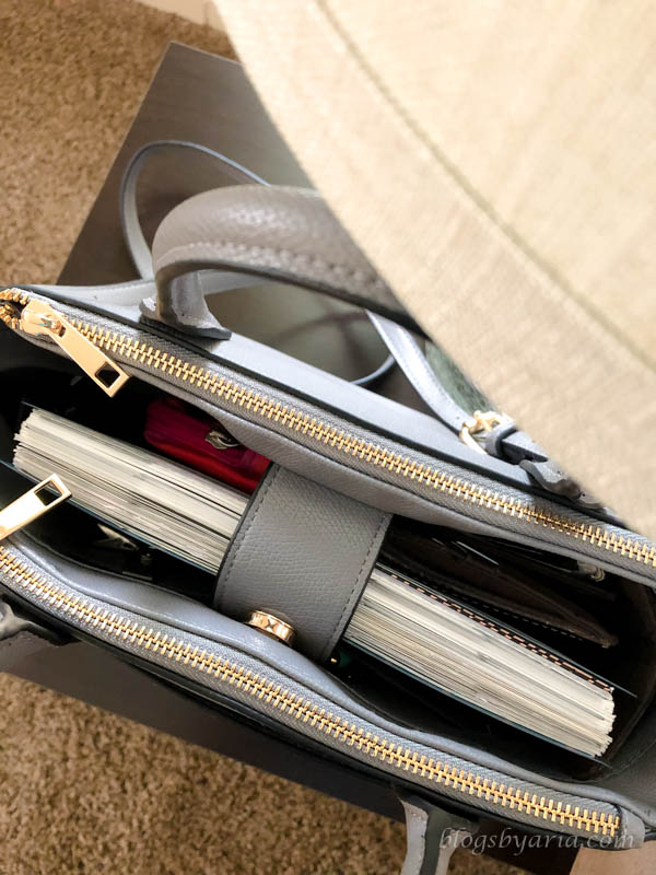 A Few Good Things - new Target handbag that fits my planner and essentials