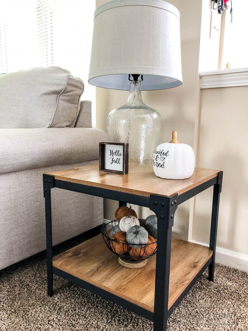 Neutral Table Decor for Fall