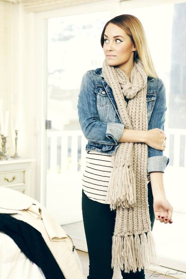Lauren Conrad shows how to wear layers for fall