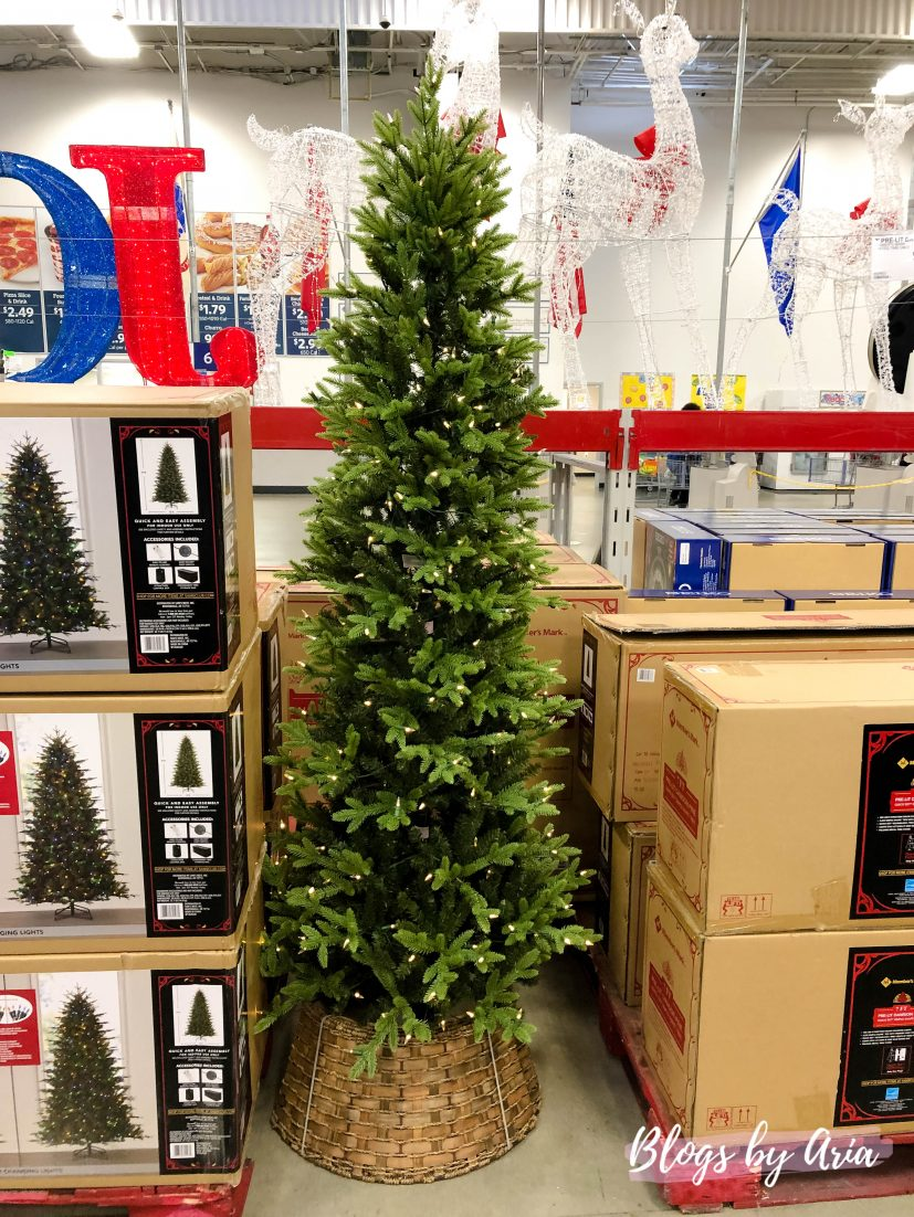 shopping for the perfect Christmas tree