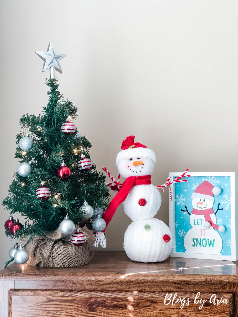 kids snowman decor