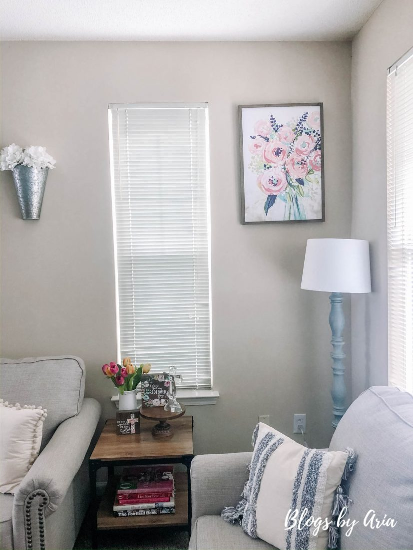 add a pretty Spring print to refresh your home
