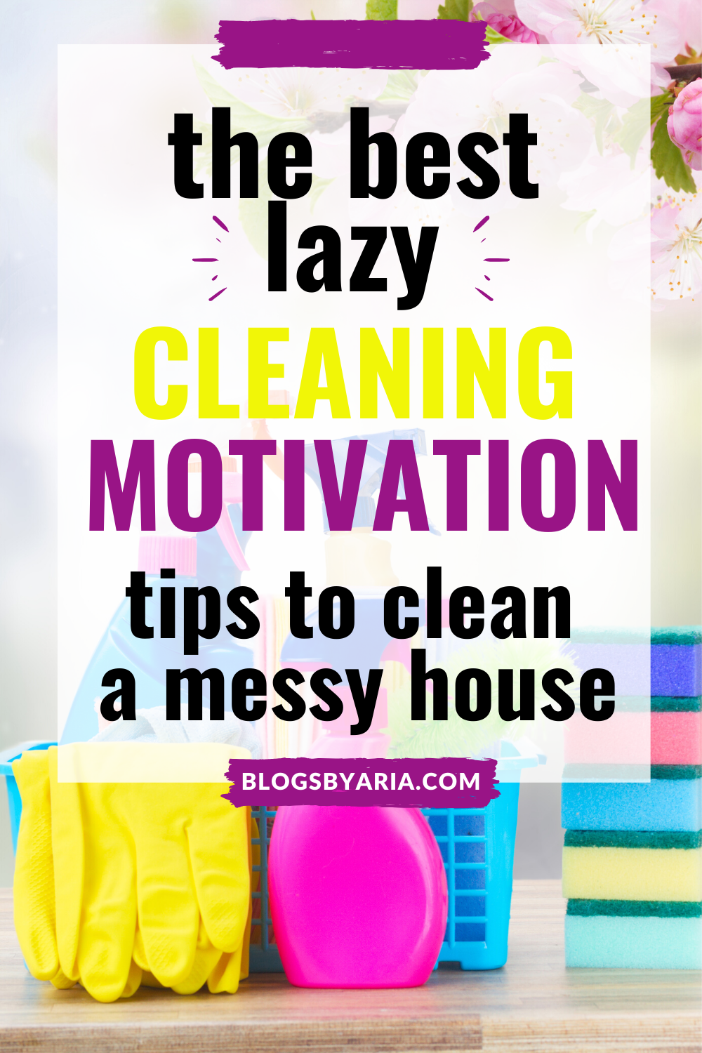 tips to clean a messy house