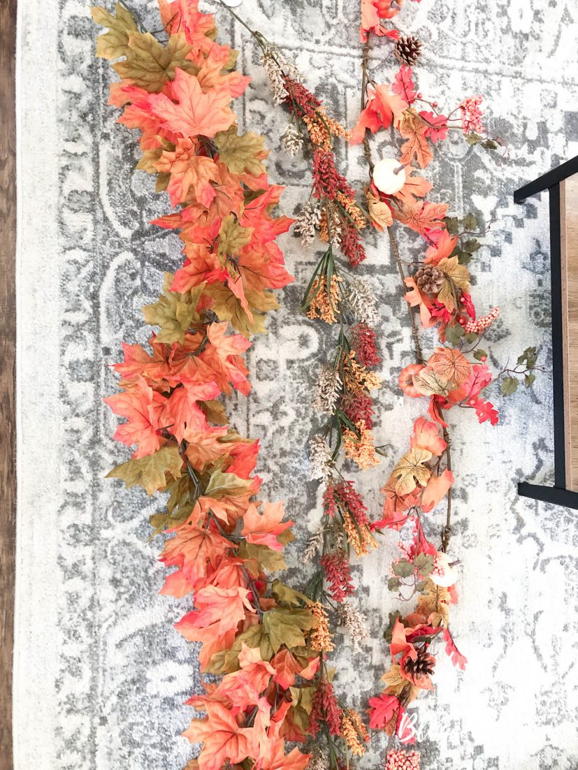 layer multiple types of garland