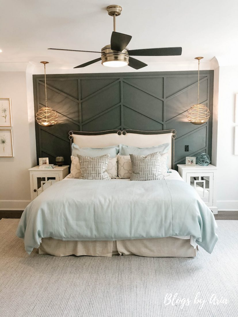 mixing farmhouse and glam