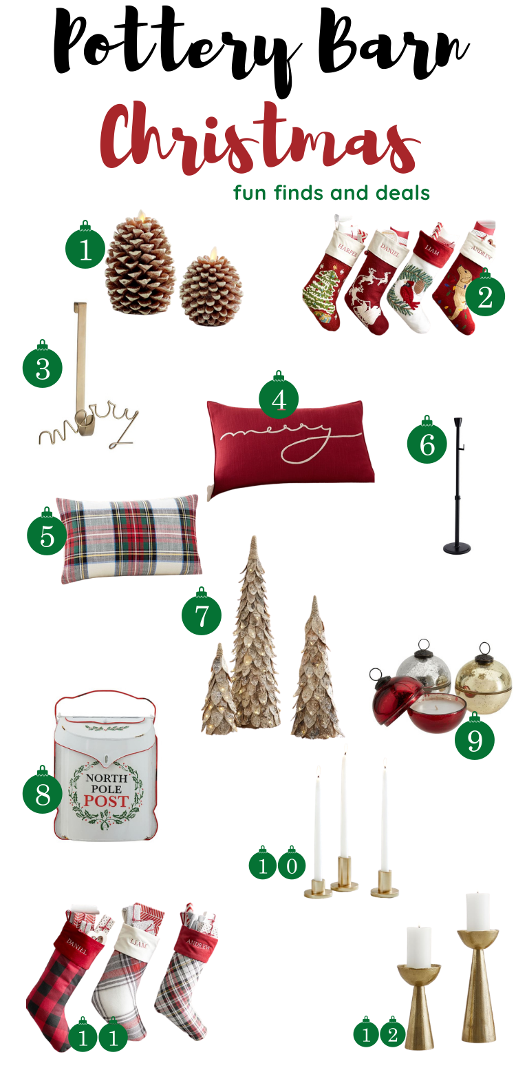 Pottery Barn Christmas finds