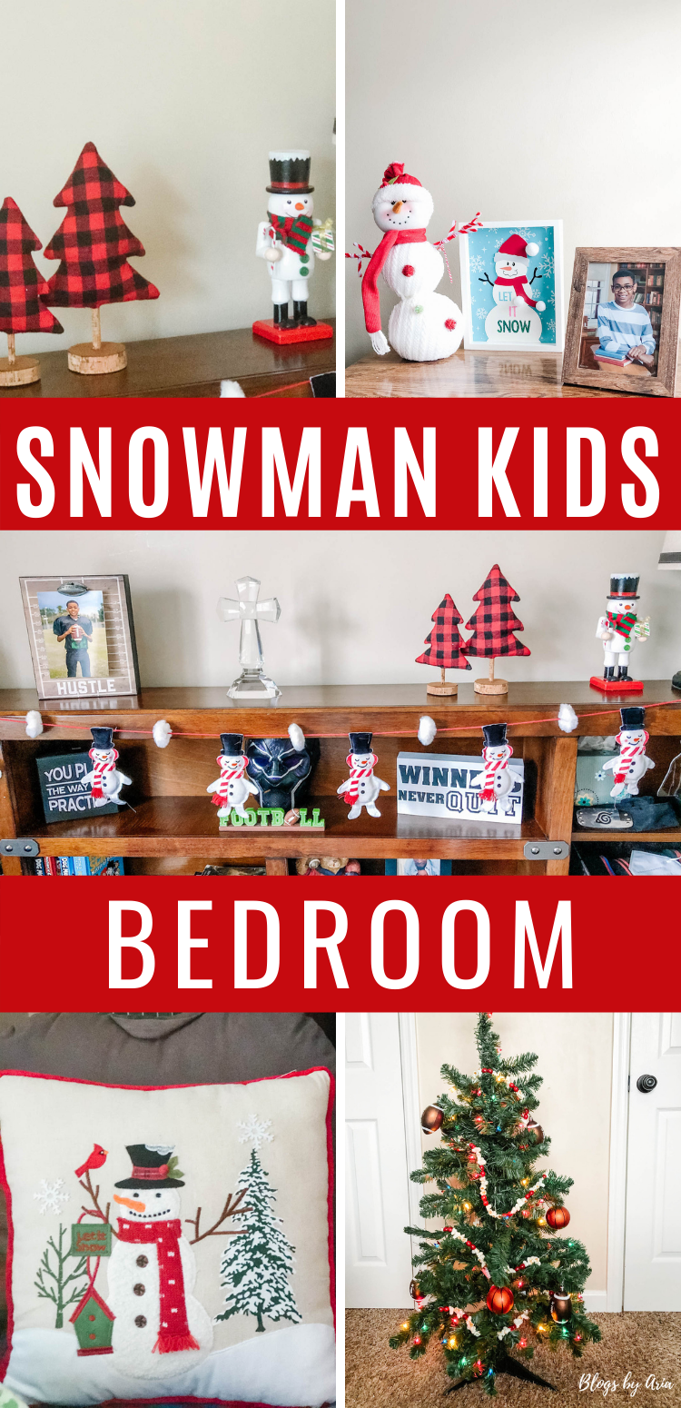 Snowman kids bedroom decorating ideas and inspiration