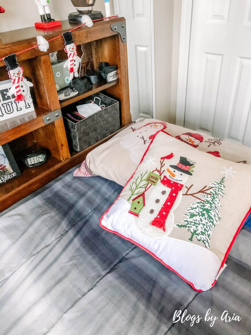 snowman kids bedding and sheets