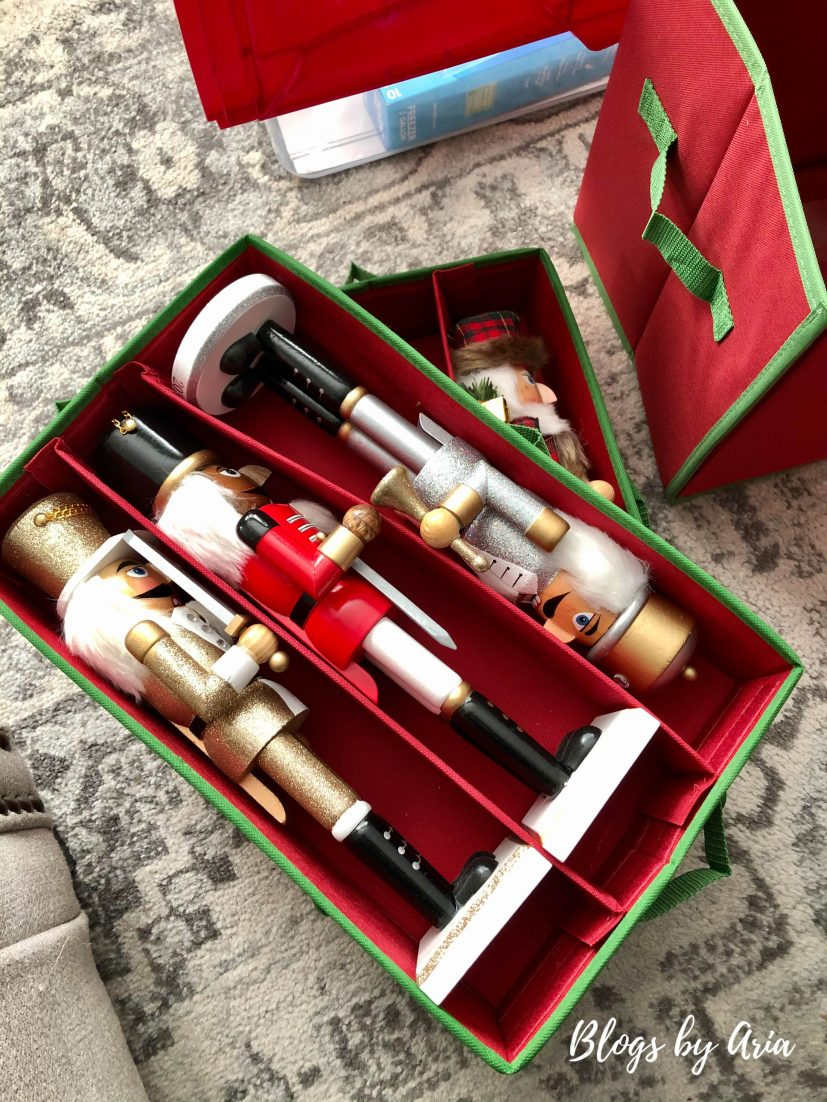 how to store nutcrackers holiday storage solutions