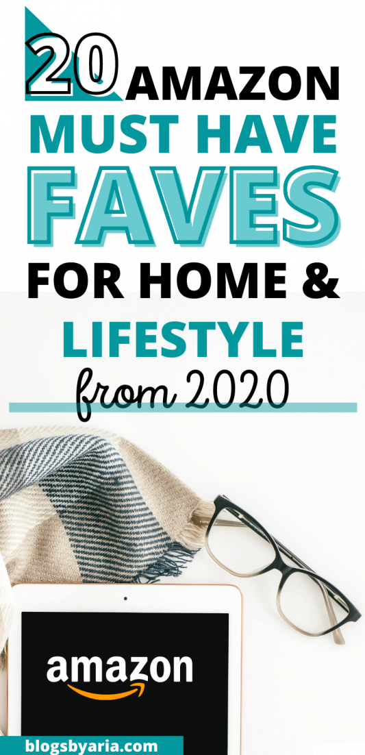 amazon must haves for home and lifestyle