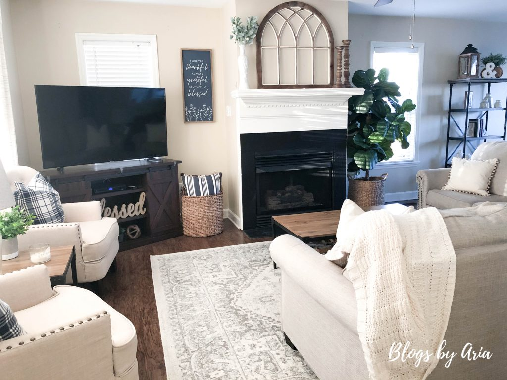 updating a traditional living room