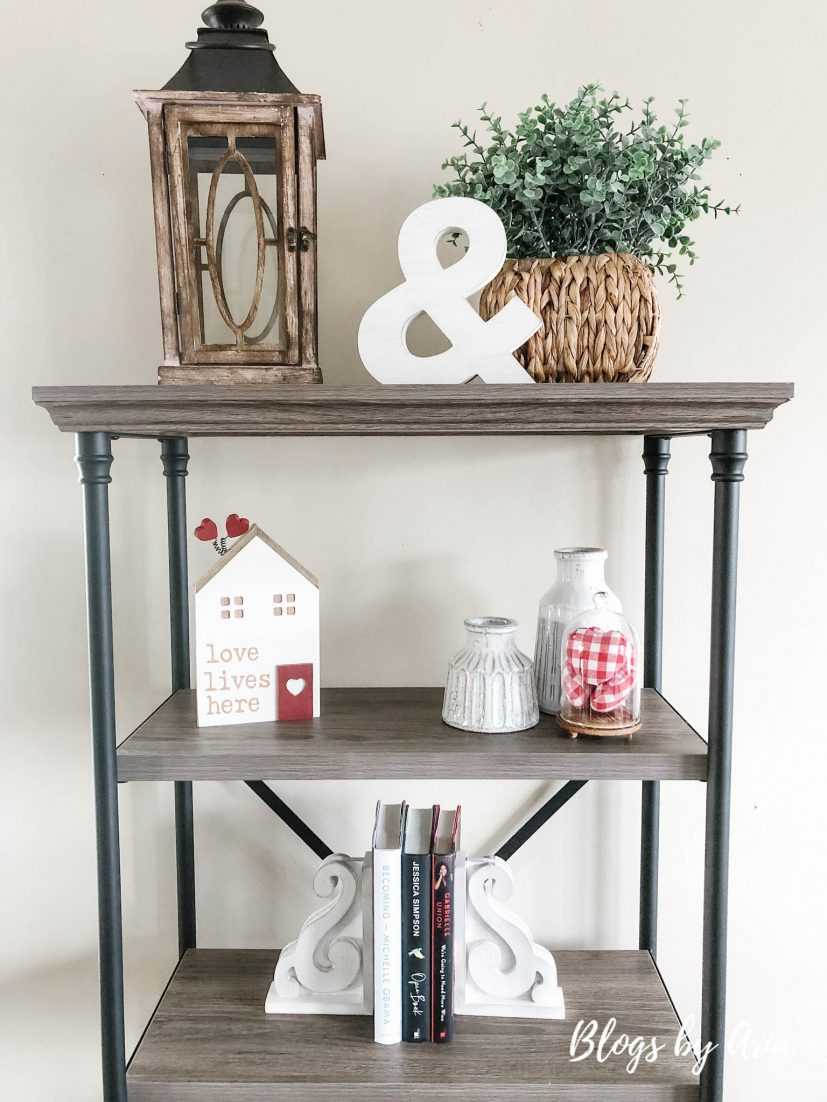 how to style a bookcase shelf styling ideas