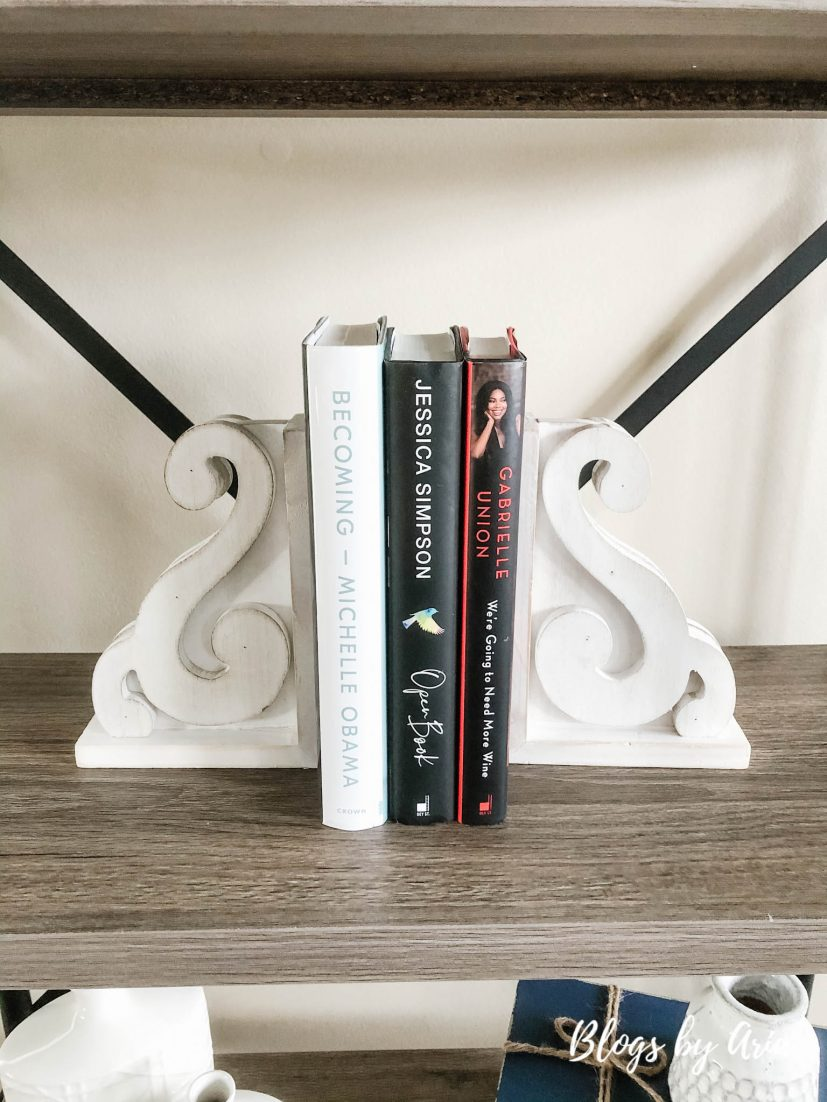 how to style books on a bookcase easy home decorating ideas