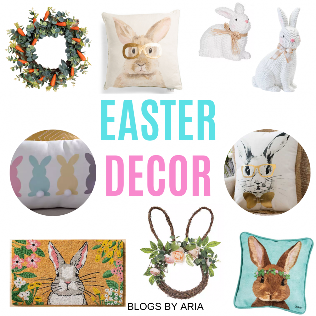 Easter home decor finds