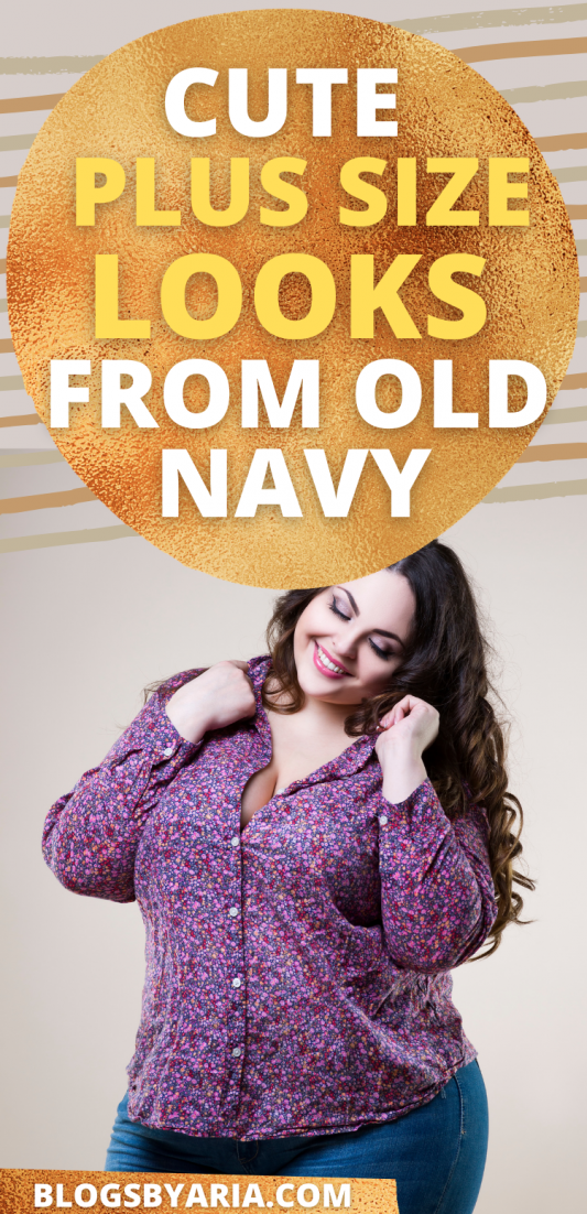 cute plus size fashion from old navy