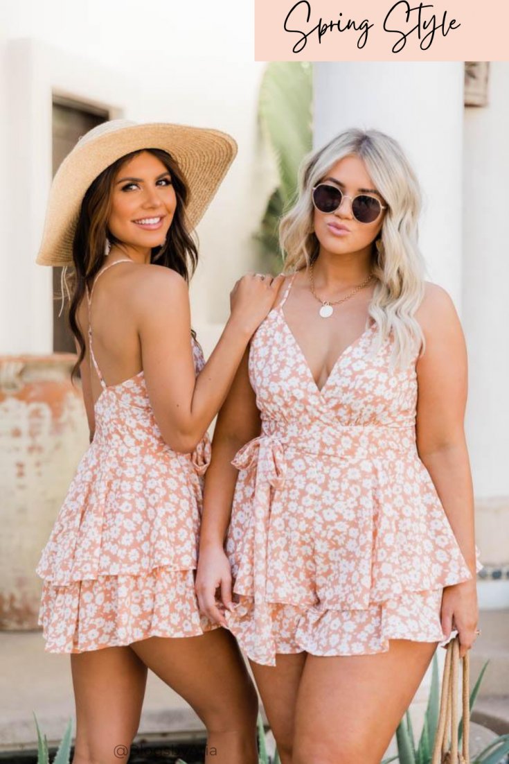 spring romper outfit
